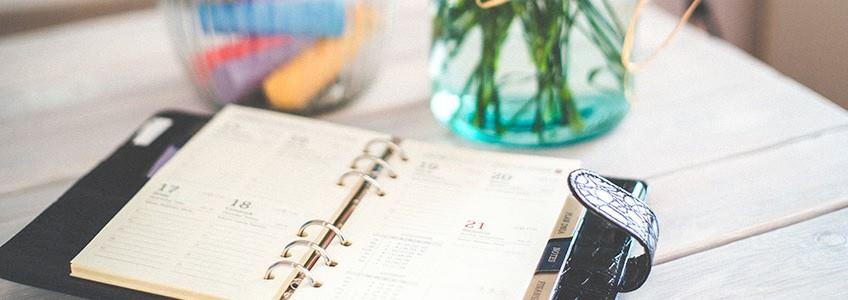 calendario de dieta y ejercicio